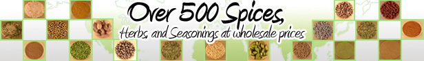 Over 500 Spices Available