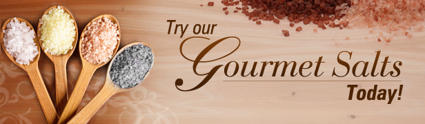 Try Our Gourmet Salts