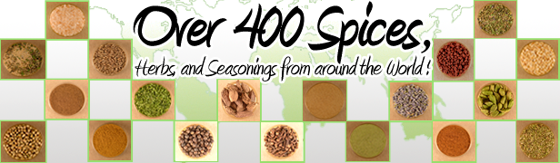 Over 400 Spices Available
